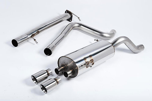 Milltek Fiesta ST180 Cat Back Exhaust (Race Version) - Fiesta ST180 1.6 EcoBoost