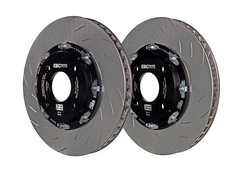 EBC Racing 2-Piece Floating 330mm Brake Discs (Pair) To Fit Fron