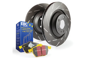 EBC Brakes Pad And Disc Kit To Fit Rear