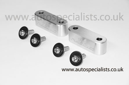 AUTOSPECIALISTS BONNET SPACER BLOCKS FOR MK2 FOCUS & MK7 FIESTA