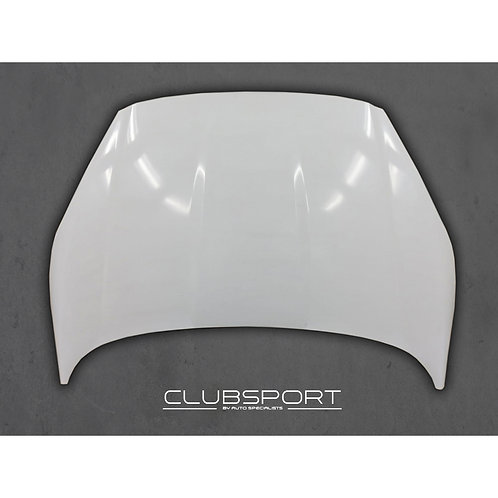 CLUBSPORT BY AUTOSPECIALISTS LIGHTWEIGHT COMPOSITE BONNET FOR FIESTA MK7 INCL. S