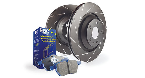 EBC groved fast road/track rear pad and discs