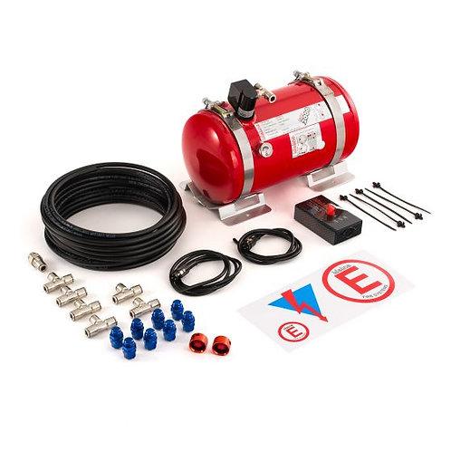Lifeline Firemarshal Electrical 4.0 Ltr Aluminium Bottle Fire Extinguisher Kit