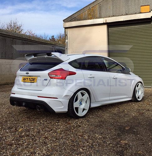 AUTOSPECIALISTS DESIGN EXTENDED ARCHES FOR MK3 FOCUS RS