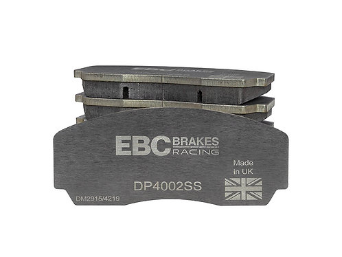 Replacement Stainless Steel Plate Yellowstuff Street And Track Brake Pads For EB