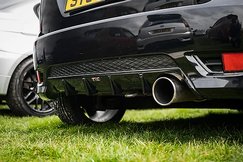 Fiesta MK6 ST150 Rear Diffuser