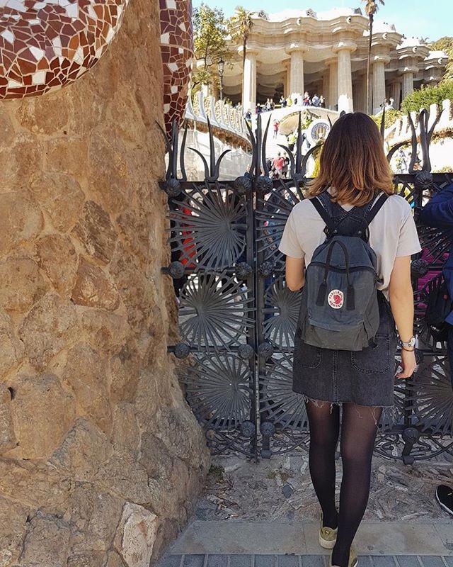Julias-view in Barcelona, Park Güell