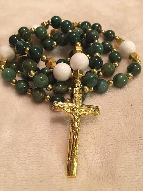 Jade Rosary