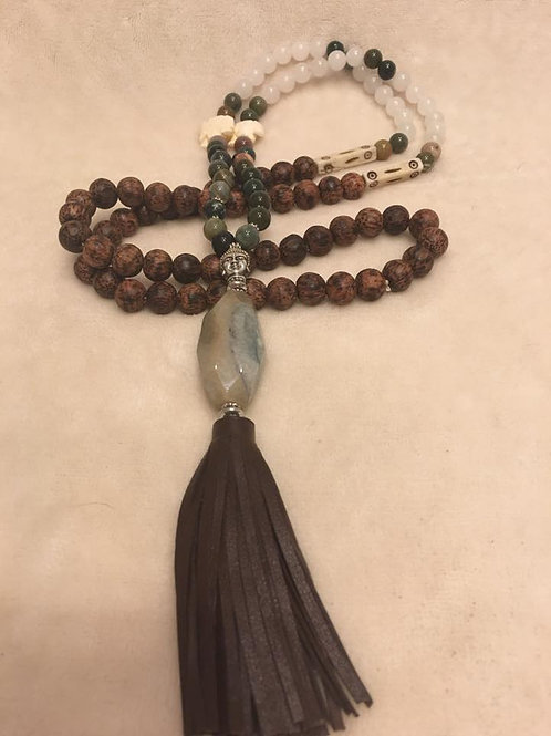 The Zen Elephant Mala