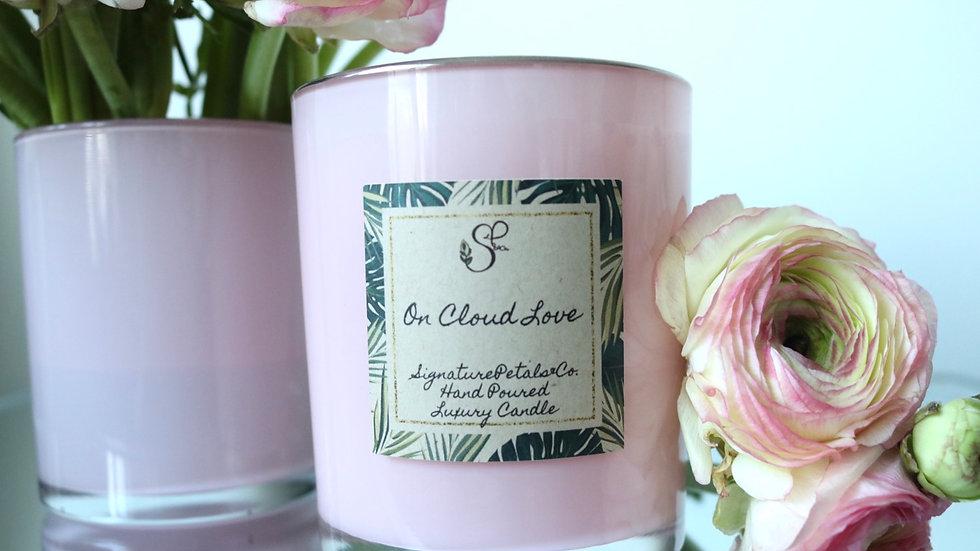 Signature Blush Pink Glass w/ Silver Rim | 12oz
