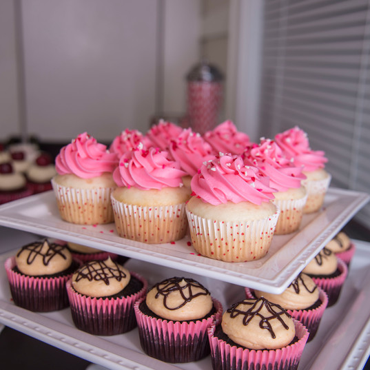 Chocolate Orange and Vanilla Cupcakes