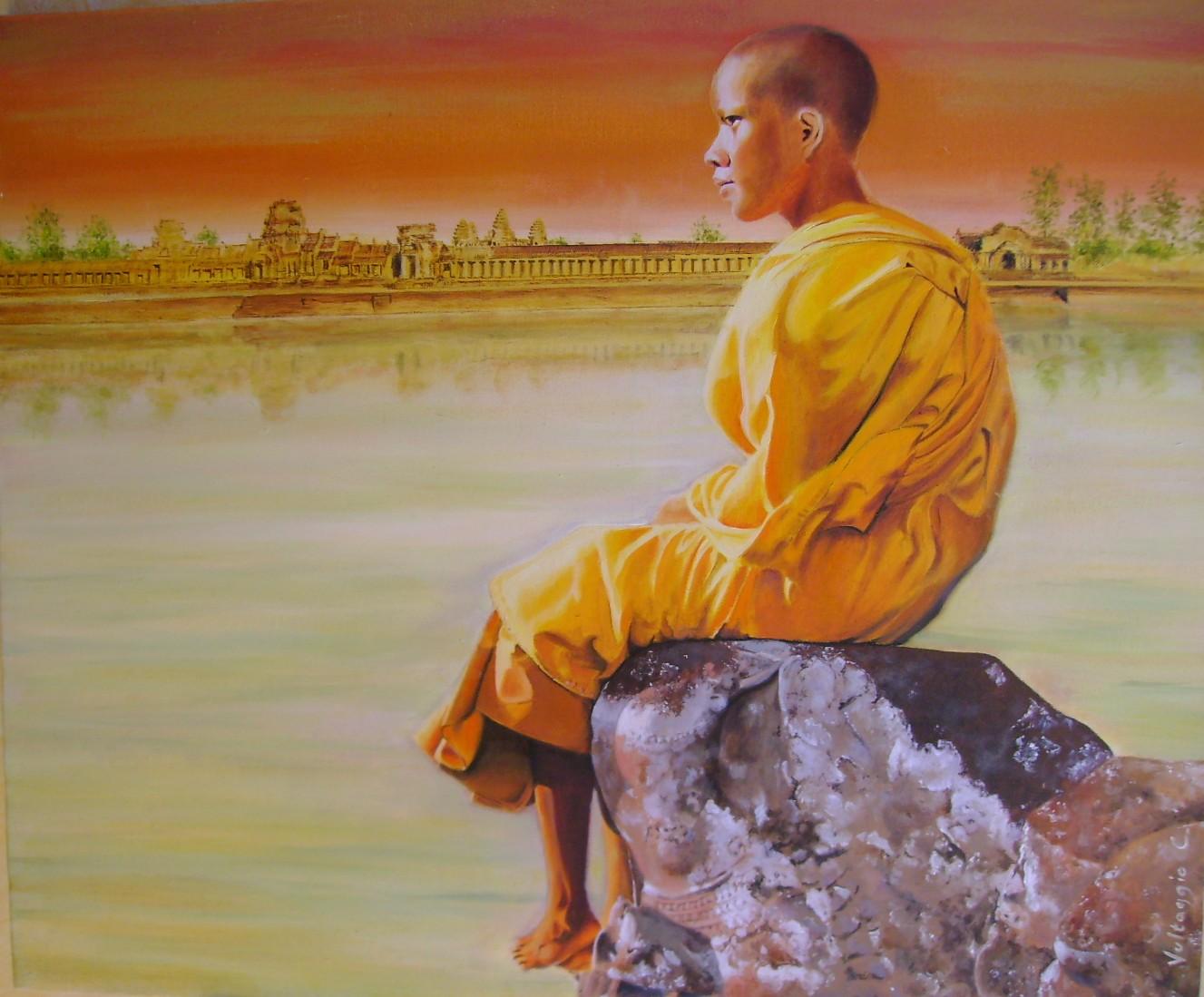 Moine d'Angkor