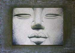 Bouddha de pierre