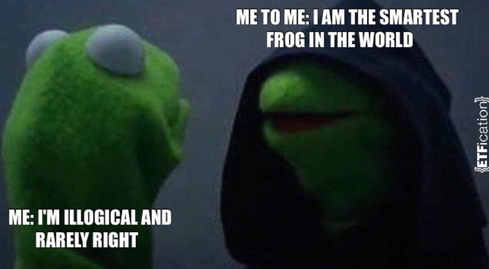 Evil Kermit meme