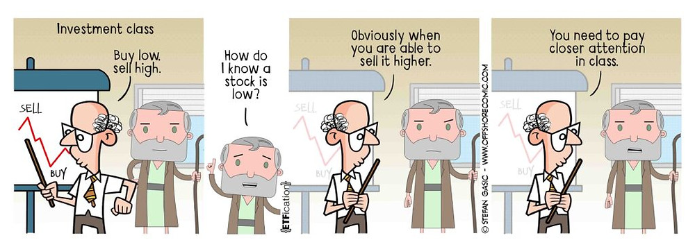 Investment class comic strip