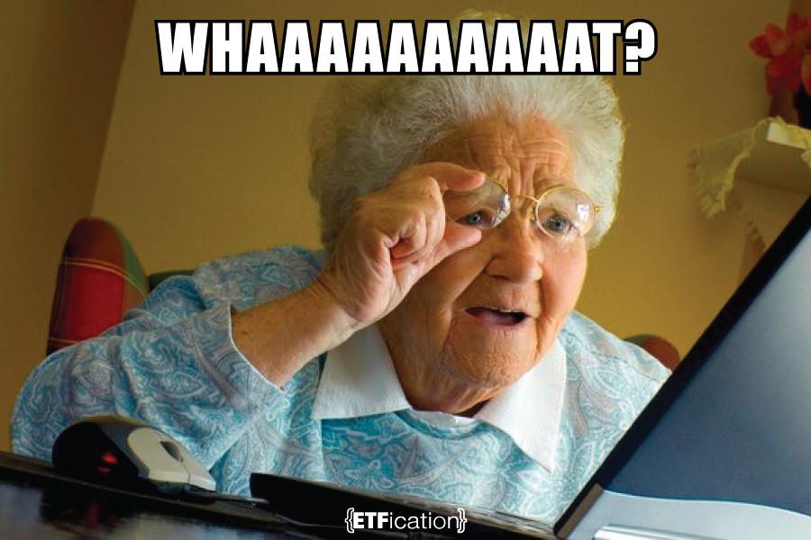 Grandma and technology, grandma with glasses