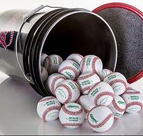 Baseball: Bucket Practice Balls