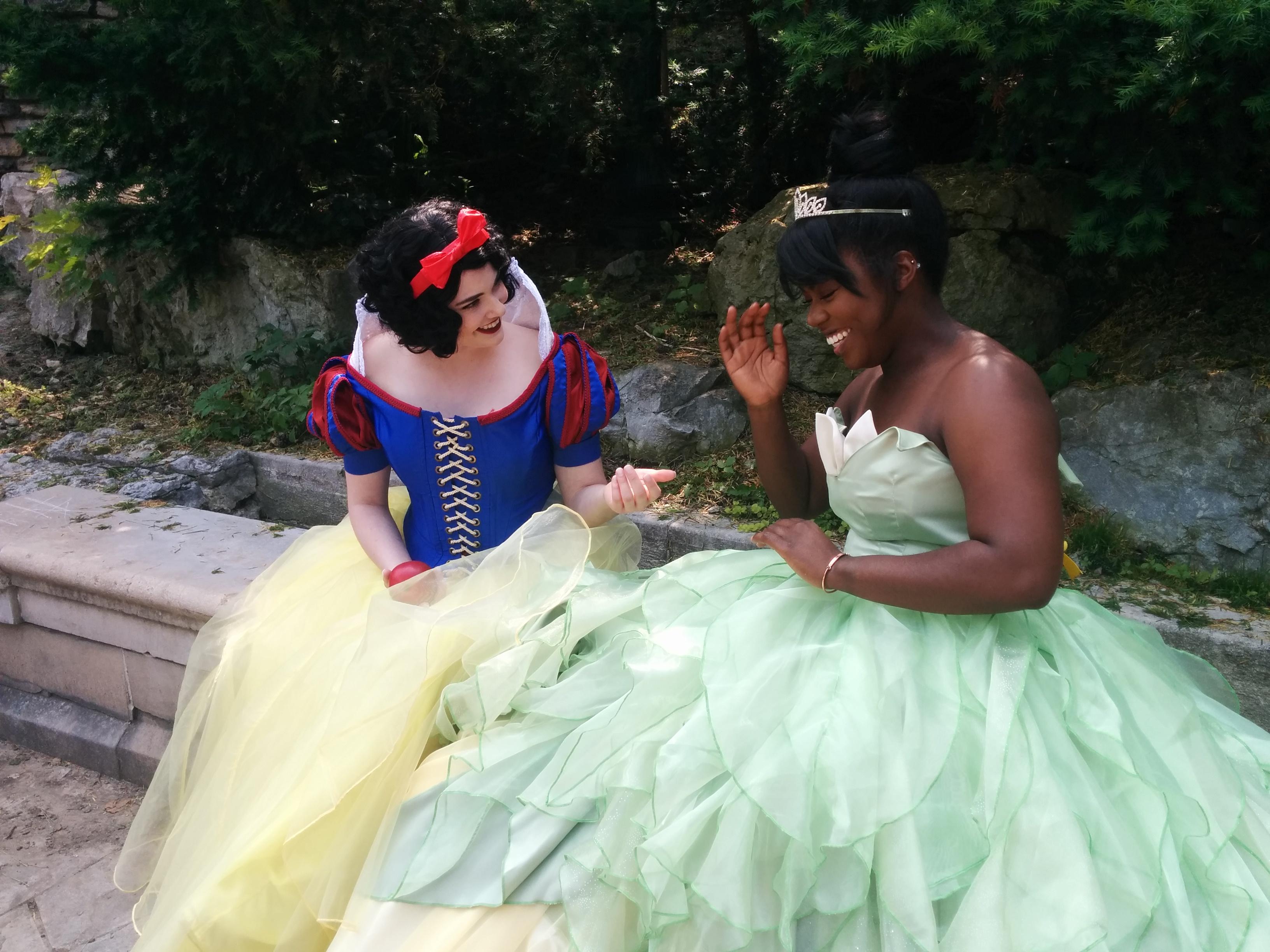 Apple and Lily Pad Princesses