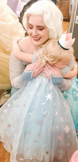 Snow Queen and Birthday Girl