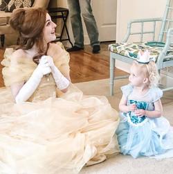 Princess Beauty and Friend