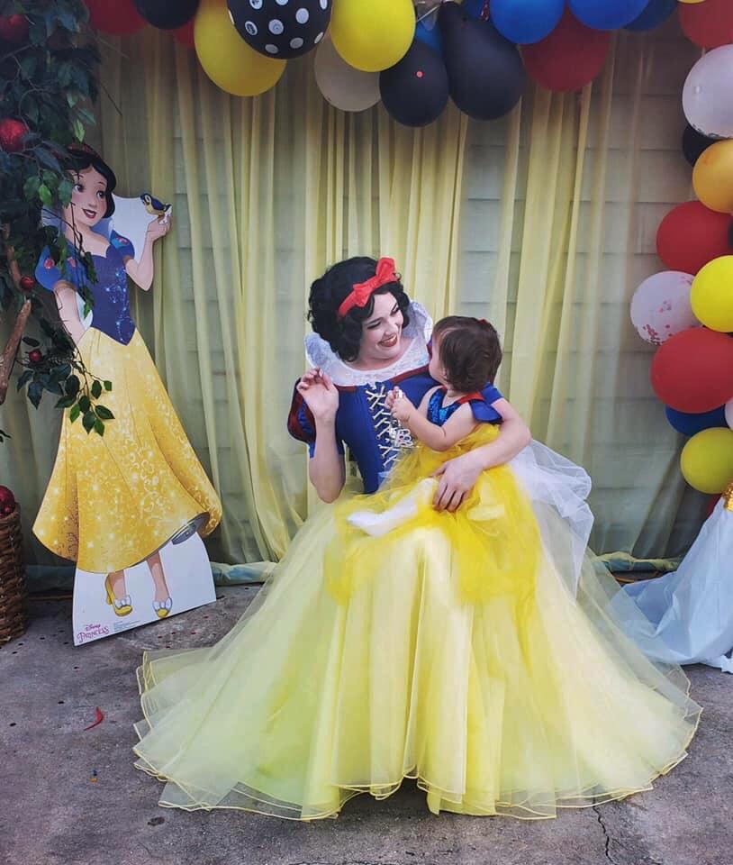 Apple Princess Birthday Party
