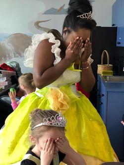 Lily Pad Princess and Birthday Girl