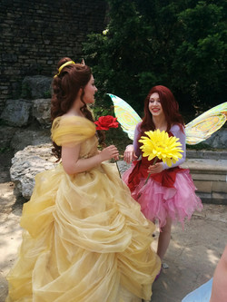 Princess Beauty and Rose Fairy