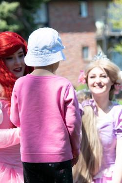 Child and Princesses