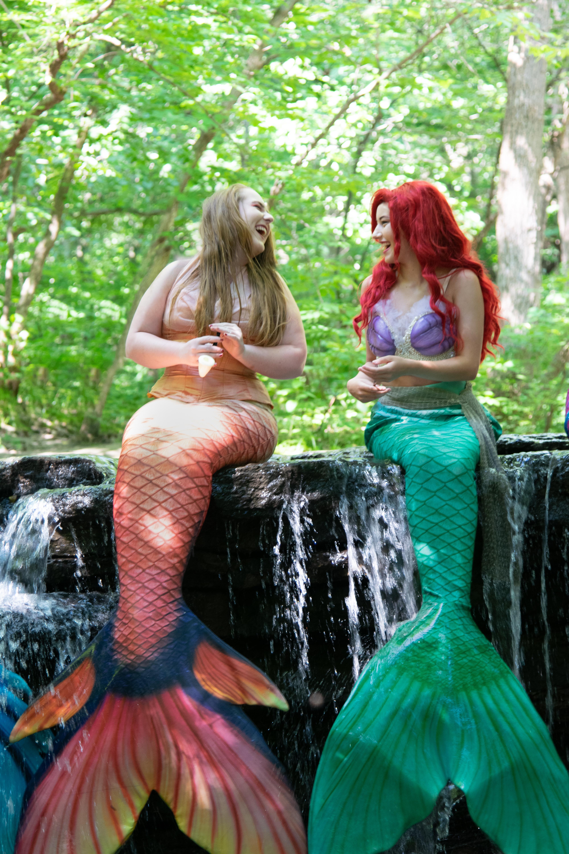 Mermaid Princess and Coral