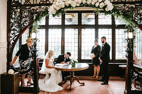 "Kilmany Park Wedding Venue | ""Chapel"" inside the Mansion"