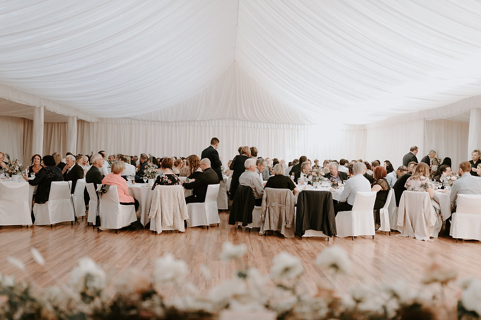Wedding Reception in Kilmany Park's Pavilion Venue