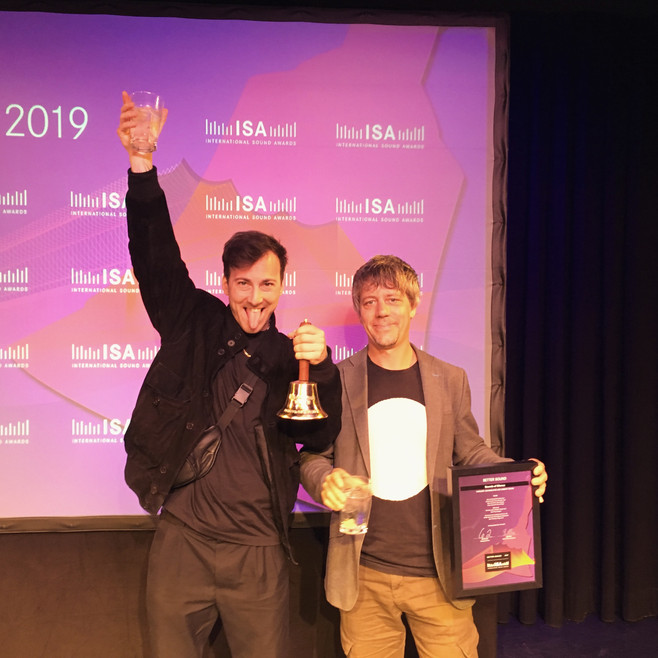 Winner of the International Sound Award 2019