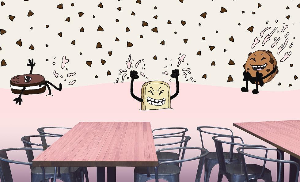 RestaurantWallMockup_Strawberry_Strip_02