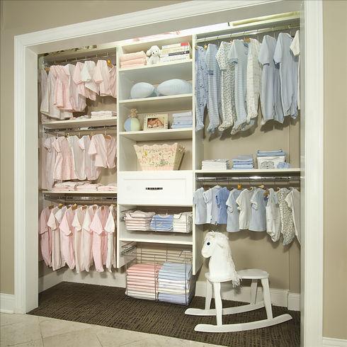 Organização quarto de bebê