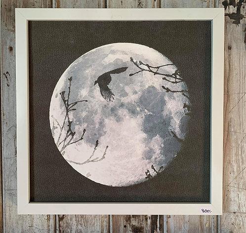Henri Hiltunen / Moon & bird