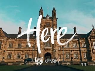2020 悉尼大学新生群