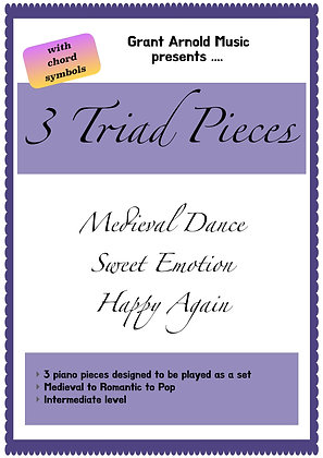 3 Triad Pieces - studio licence version
