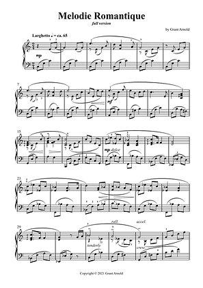 Melodie Romantique (full version)