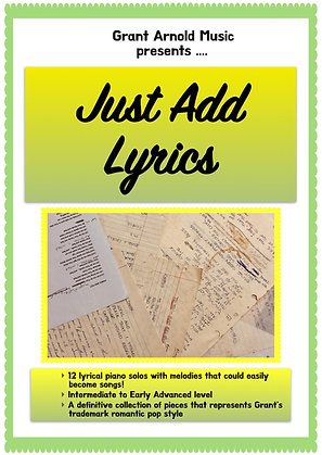 Just Add Lyrics !