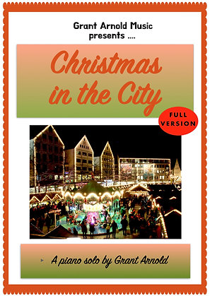 Christmas in the City (full piano solo)