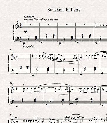 Sunshine in Paris