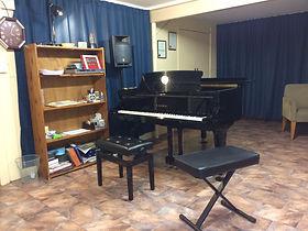 Studio grand piano