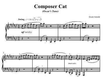 Composer Cat