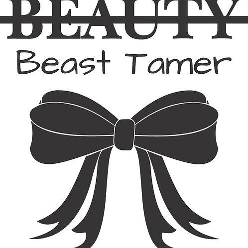 Beauty Beast Tamer Graphic