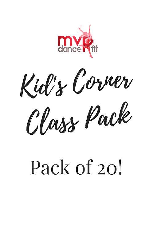 Kids Corner 20 Pack