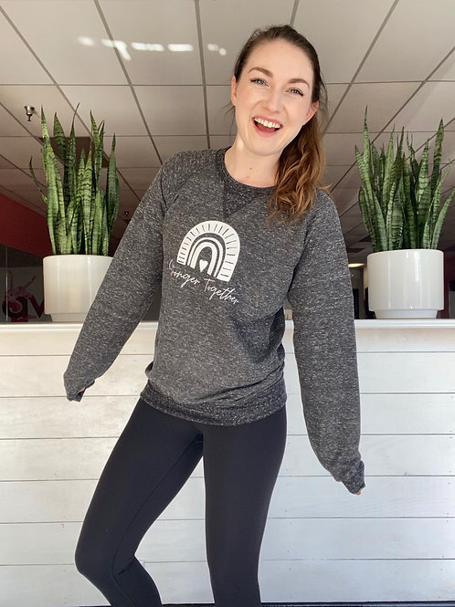 Stronger Together Grey Sweatshirt