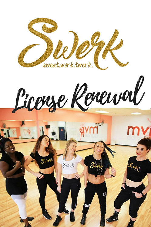 Official Swerk License Renewal