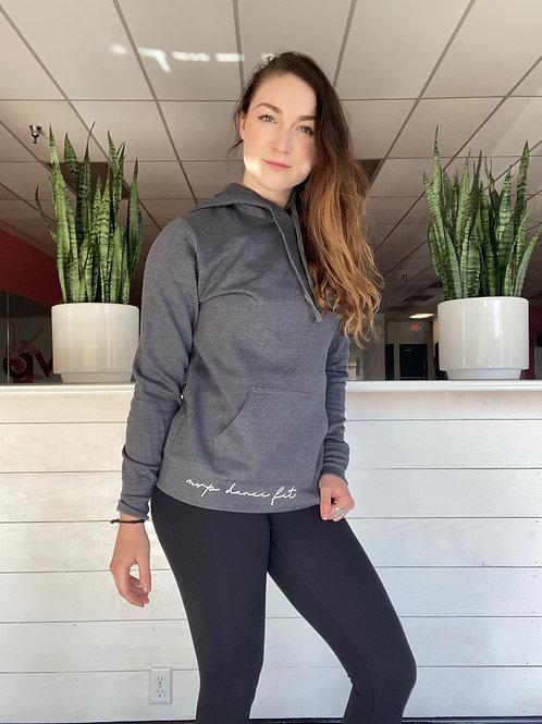 The Classy Dark Grey Heather MVP Athletic Hoodie