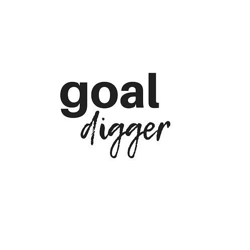 Goal Digger Graphic