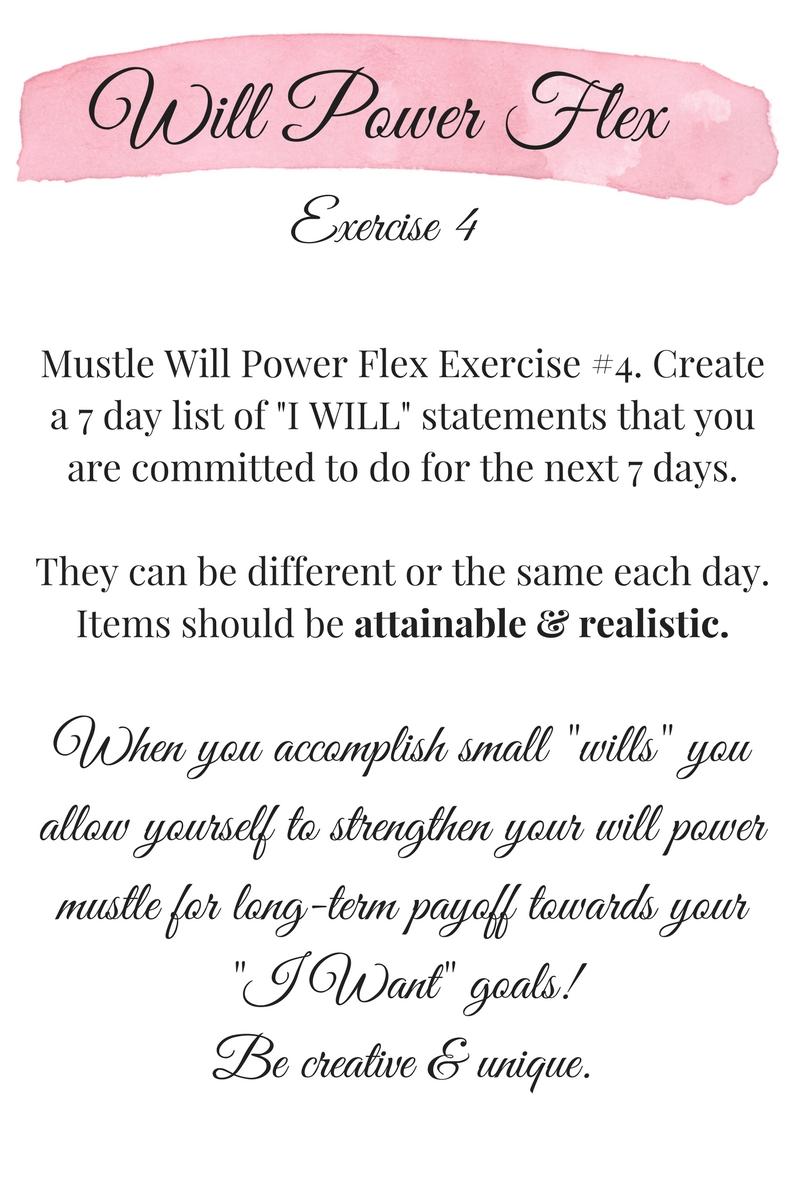 Will Power Flex 4